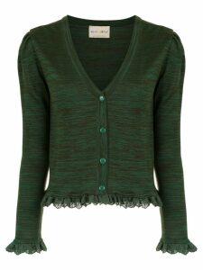Andrea Bogosian knitted cardigan - Green