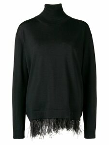 P.A.R.O.S.H. turtleneck sweater - Black