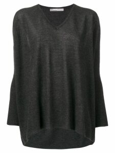 Gentry Portofino V-neck sweater - Grey