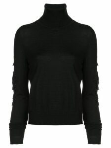 Barrie Sweet Eighteen cashmere turtleneck pullover - Black