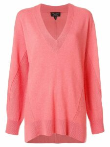 Rag & Bone Sabreena loose-fit cashmere jumper - PINK