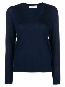 Pringle of Scotland v-neck jumper - Blue