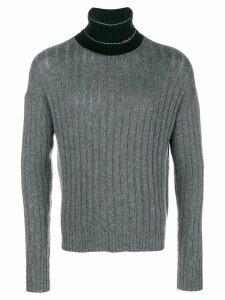 Prada roll neck sweater - Grey