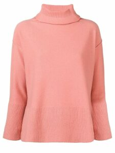 Antonelli turtleneck fine knit sweater - Pink