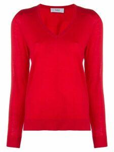Pringle of Scotland classic v-neck jumper - Red