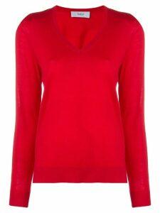 Pringle Of Scotland classic v-neck jumper - Red