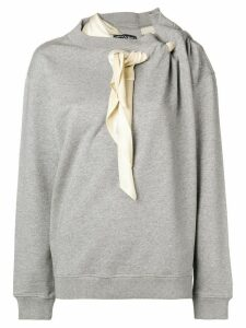 Y/Project deconstructed sweatshirt - Grey