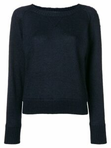 Missoni side logo sweater - Blue