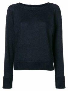 Missoni side logo sweater - Blue