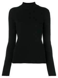 Pringle of Scotland ribbed roll neck sweater - Black