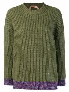 Nº21 chunky knit jumper - Green