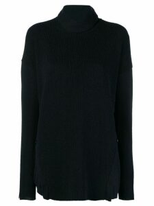Stefano Mortari turtle neck jumper - Blue