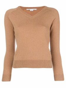 Stella McCartney v-neck sweater - Brown