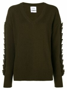 Barrie Troisieme Dimension cashmere V-neck pullover - Green