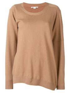 Stella McCartney loose knitted jumper - Brown