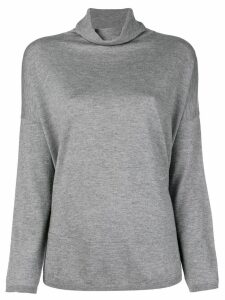 Snobby Sheep turtleneck jumper - Grey