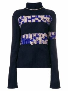 Calvin Klein 205W39nyc inside-out effect sweater - Blue
