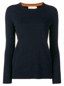 Tory Burch round neck sweater - Blue