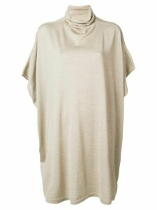 Jean Paul Knott oversized high neck sweater - NEUTRALS