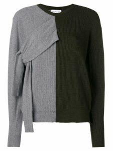 Carven double-faced knit sweater - Green