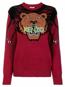 Kenzo Tiger intarsia sweater - Red