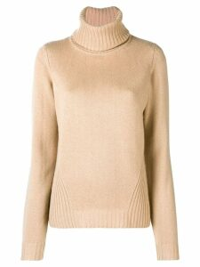 Barbara Bui turtleneck jumper - Neutrals