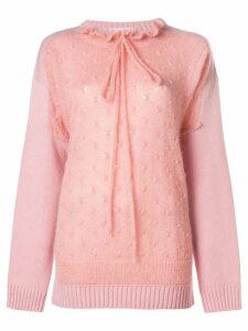 JW Anderson trompe l'oeil sweater - PINK