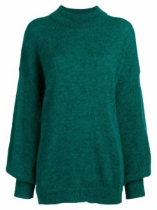 Fine Edge loose fit sweater - Green