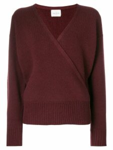 Le Kasha London v-neck jumper - PINK