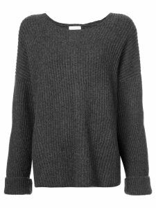 Le Kasha Seoul oversized jumper - Grey