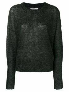 Isabel Marant Étoile boxy fine-knit sweater - Black