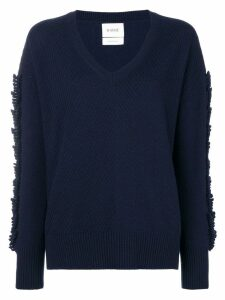 Barrie Troisieme Dimension cashmere V-neck pullover - Blue