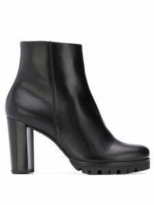Hogl platform ankle boots - Black