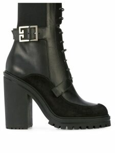 Givenchy high-heel combat boots - Black
