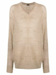 Joseph oversized knit jumper - Neutrals