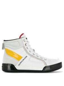 Calvin Klein Jeans lace-up boots - White