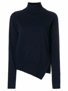 Zanone side slit jumper - Blue