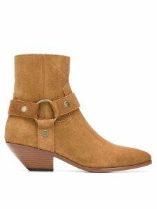 Saint Laurent West Harness boots - Brown