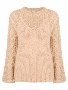 Kenzo Illusion sweater - Neutrals