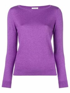 Snobby Sheep boat neck sweater - PURPLE