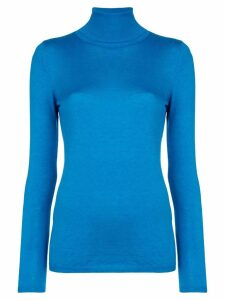 Snobby Sheep roll neck fine knit sweater - Blue