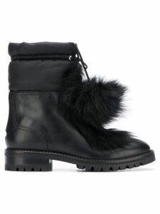 Jimmy Choo Glacie flat ankle boots - Black