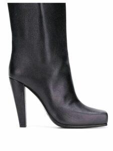Poiret platform ankle boots - Black
