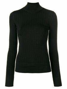 LANVIN roll neck sweater - Black