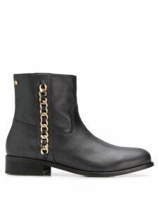 Tommy Hilfiger chain detail boots - Black