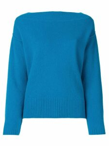 Forte Forte basic jumper - Blue