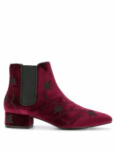 Senso Kaia II floral boots - Red