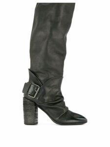 Marsèll buckle embellished boots - Black