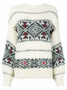 Polo Ralph Lauren chunky knit jumper - White