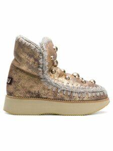Mou sheepskin snow boots - Gold